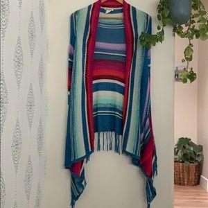 Billabong fringed shawl